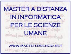 Master Storia e informatica a distanza